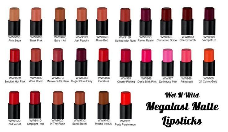 Image result for Wet 'n Wild Megalast Lip Color